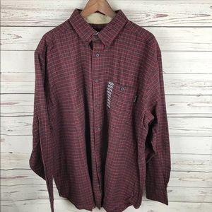 Woolrich Bear Mountain Flannel Shirt Sz XL
